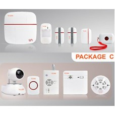 GSM+WIFI alarm systems/Package C
